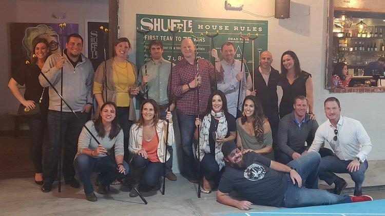 Trusted Advisors Tampa – Shuffle Board party