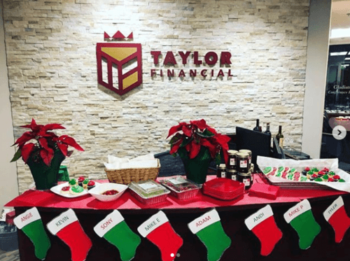 Taylor Financial Xmas Party