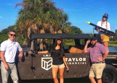 Taylor Financial team looking good