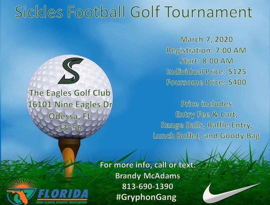 Sickles Football Golf Tournament