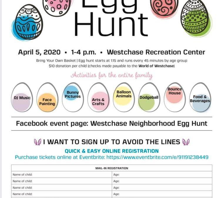 Westchase Neighborhood Egg Hunt