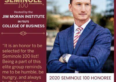 Adam Taylor Seminole 100 2020