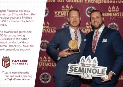 Adam and Mike Seminole 100