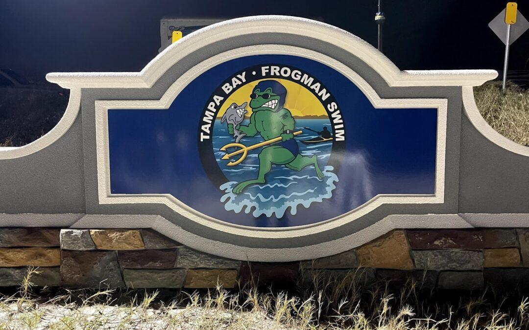 Frogman Swim